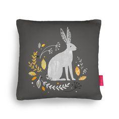 Autumn Hare Cushion by Sorcha Faulkner | Ohh Deer
