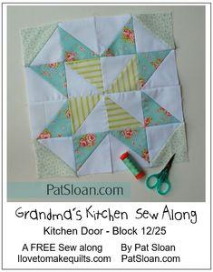 Pat Sloan Block 12 Grandmas Kitchen pic 3