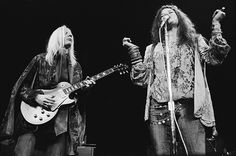 Johnny Winter and Janis Joplin