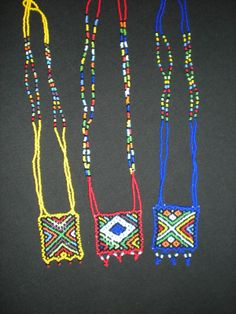 African-Home.com zulu love letter necklaces - African Necklaces and Belts - African Afro Accessories - Our Ranges