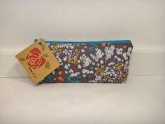 Mulberry Pencil Case Pencil Pouch Makeup Bag Travel by BallyandLis