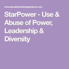 StarPower - Use & Abuse of Power, Leadership & Diversity