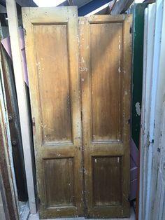 nr. 1713 set oude deuren   Opgeklampte deuren, deurtjes, panelen   Oudedeur - paneeldeuren :