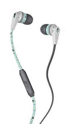 Shop Skullcandy Ink'd 2 Earbud Headphones Black/Mint at Best Buy. Find low everyday prices and buy online for delivery or in-store pick-up. Wireless Headphones Review, Audiophile Headphones, Waterproof Headphones, Running Headphones, In Ear Headphones, Phone Sounds, Skullcandy Headphones, Gadget Gifts, Silicone Gel