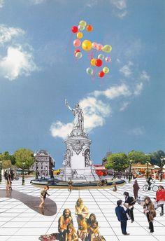 Place De La République by TVK