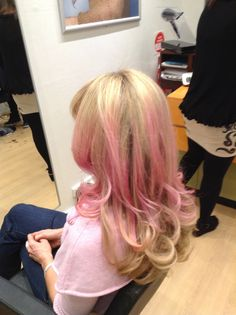 Fairy floss pink for something a little different #ajayburgess