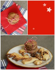 Marzipan-Zucker-Plätzchen