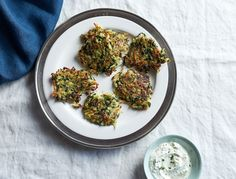 This super savory veggie-filled version of the classic latke was a real hit at goop HQ. It has everything you love about latkes (read: potatoes), plus, the crisp kale edges are so good. Slather on some chive sour cream and enjoy!
