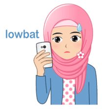 Let's be a cheerful, lovely, and cute hijaber with this sticker set. I LOVE HIJAB! Islamic Cartoon, Hijab Cartoon, Funny Emoji, Line Store, Line Sticker, Emoticon, Islamic Art, Me Me Me Anime, Ikon