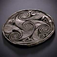 Triskel, National Museum of Scotland. Arte Tribal, Celtic Culture, Celtic Art, Celtic Dragon, Celtic Symbols, Iron Age, Celtic Designs, National Museum, Ancient Art