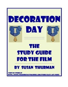 This film helps students explore themes of friendship, racism, love, and patriotism when a retired judge is asked to persuade a one-time friend to accept the Congressional Medal of Honor. Included in your 9-page, printable study guide are vocabulary; historical and military background; literary terms; study questions; detailing various historical and cinematic points a selection test; writing/research topics; answer key. Suitable for middle school, high school, and college classes. $10