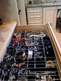 Jewelry Drawer Organizer Trays Stackable Trays by Neatnix