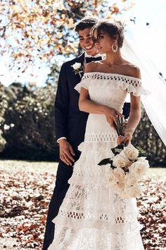 Courtesy of Grace Loves Lace Wedding Dresses; Photographer: Jeremy Choh