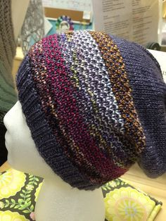 Ravelry: Second Sock Syndrome Hat Minis pattern by Chris Rieffer   Anzula Squishy