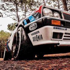 Lancia Delta Sport Cars, Race Cars, True Car, Classic Sports Cars, Classic Cars, Martini Racing, Lancia Delta, Fiat Abarth, Top Cars
