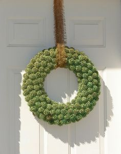 gumball wreath....something to do with all of those stupid things
