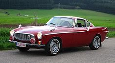 "Volvo P18. Came to public notice when featured on the 1960's TV show ""The Saint"", and was driven by Simon Templar (Roger Moore). My dream car from the age of 18 (although preferably in the cream colour with the red interior). Fiona"