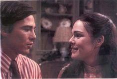 All My Children:  There was always a guy that snared me to watch the soap.  That actor was Richard Hatch.  He played Tara's love interest until he left.  He went on to Streets of San Francisco.
