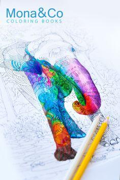 Coloriage - feuille de coloriage Coloriage adulte - partie de Coloring book imprimable - griffonner - - éléphant dessiné à la main
