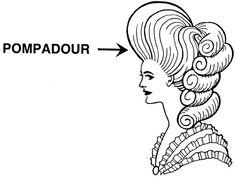 Cortesã francesa e amante do Rei Luís XV da França, Madame de Pompadour (1721 – 1764) revolucionou os penteados na história da moda, influenciando rapazes e garotas até hoje. Quem não sabia, é dela a referência para o topete de Elvis Presley, bem como para o primeiro ideal de beleza feminina nos Estados Unidos conhecido como Gibson Girl.