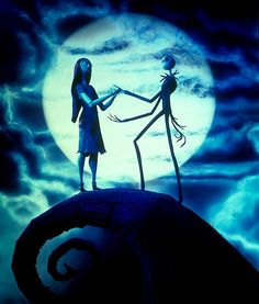 'Twas a long time ago, longer now than it seems in a place perhaps you've seen in your dreams. For the story you're about to be told began with the holiday worlds of auld. Now you've probably wondered where holidays come from. If you haven't I'd say it's time you begun #nightmarebeforechristmas