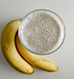 Ruokapankki: Banaani-vaniljasmoothie