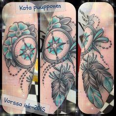 https://www.facebook.com/VorssaInk/, http://tattoosbykata.blogspot.com, #tattoo #tatuointi #katapuupponen#vorssaink #forssa #finland #traditionaltattoo #suomi #oldschool #pinup #dreamcatcher