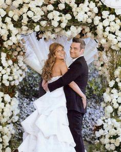 English Singer Robbie Williams American Actress Ayda Field Tied The Knot In A Lavish Nuptials Back