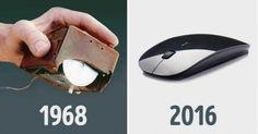 As mudanças dos objectos ao longo dos tempos