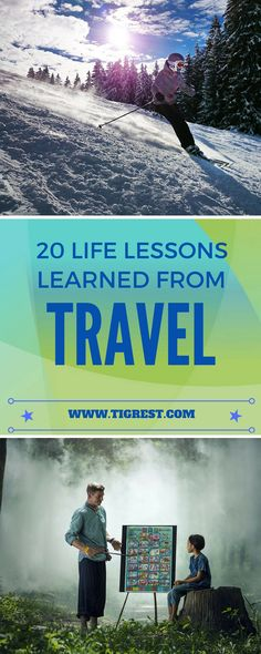 20 life lessons that I learned while traveling the world - experiences, life advice and much more. Traveling will change you life!