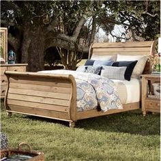 Kincaid Homecoming Sleigh Bed