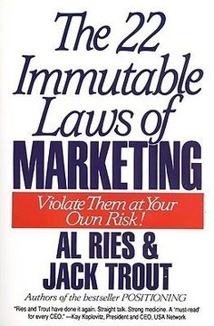 The 22 Immutable Laws of Marketing by Al Ries  Simple and easy to read and understand.  If you need a quick reference on marketing ideas and which laws you need to follow, then this book come in pretty handy.
