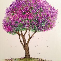Quaresmeira! Minha árvore preferida!