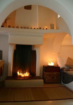 La Casa Delle Luci-fireplace