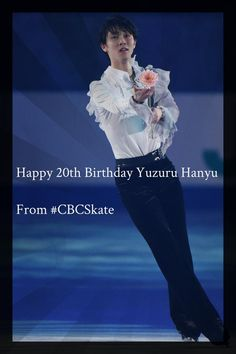 Happy Birthday #YuzuruHanyu from #cbcskate Celebrate with his Olympic Gold Medal Performance   by CBC Sport