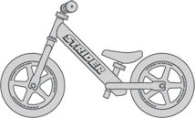 Strider Bikes ~ I really want the kids to learn to ride bikes.  Balance bikes to build confidence!!