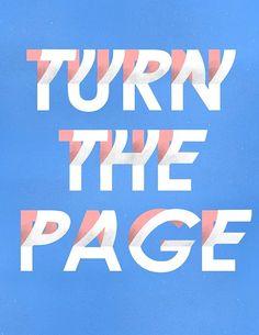 """visualgraphc: Tag 362 """"Turn The Page"""" von Matt Chinworth - Handlettering und Typografie Typography Quotes, Typography Letters, Typography Poster, Graphic Design Typography, Japanese Typography, Web Design, Type Design, Logo Design, Inspiring Quotes About Life"""