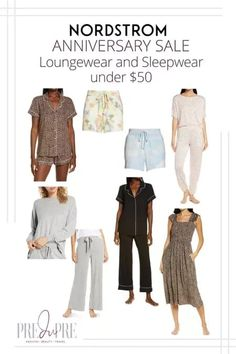 Great finds at the Nordstrom Anniversary Sale. I've rounded up my top picks in loungewear & sleepwear under $50. Hot Summer Outfits, Fall Outfits, Warm Weather Outfits, Nordstrom Anniversary Sale, Weekend Wear, Pajama Shorts, Loungewear, Get Dressed, Outfit Of The Day
