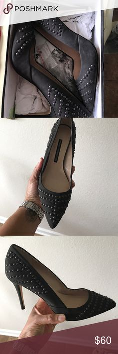 French Connection pumps size 41 EU/ 10 Brand new in the box, never worn! I tried them on ofcourse lol. Hot shoe! Perfect for professional setting or can be dressed down. Very classy shoe 👠 French Connection Shoes Heels