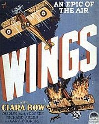 """Buddy Rogers starred in the 1927 silent film """"Wings,"""" which won the first ever Best Picture award."""