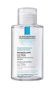 La Roche-Posay Micellar Cleansing Water for Sensitive Skin - Makeup Natural Natural Makeup Remover, Best Makeup Remover, Makeup Removers, Makeup Kit, Skin Makeup, Makeup Tools, Makeup Brushes, Sensitive Acne Prone Skin, Roche Posay