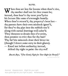 Pop Sonnets! This is kind of brilliant: http://popsonnet.tumblr.com