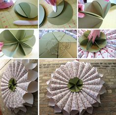 paper cone wreath The tutorial is here: http://www.snowandgraham.com/blog/?p=1608