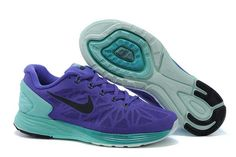 the latest e8742 d6dad 1767   Nike Lunarglide 6 Dam Grön Lila SE107560IEjLiF Nike Tenisky Vo Farbe  Tiffany Modrá,