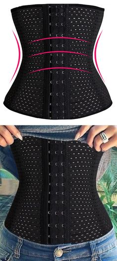 This latest trend is popular for a reason...it works! Made from high quality fabric and inlaid with flexible spiral steel bones, this fresh and fabulous waist trainer is only available at Freshiana.com! Best of all? You can save 20% off your order with coupon code PIN20