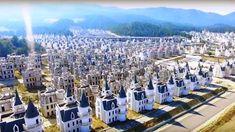 Burj Al Babas Thermal Resort Mudurnu/Bolu Turkey recently filed Bankruptcy Villas, Paris Skyline, New York Skyline, Fairytale Castle, Abandoned Castles, Ghost Towns, 16th Century, Dolores Park, Castles