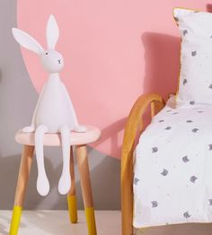 Joseph Bunny table lamp by Rose in April