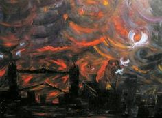 "Saatchi Art Artist David K Collins; Painting, ""Enemy At The Gates"" #art"