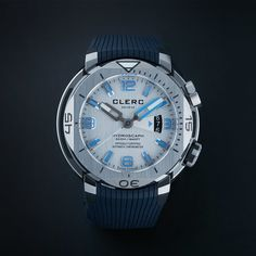 Clerc Hydroscaph H1 Chronometer Automatic // H1-1.4.1 // Store Display