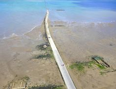 """Passage du Gois is an unusual road, a passage between the mainland and """"Noirmoutier"""", the island near the Atlantic coast of France, known as """"Black monastery""""."""